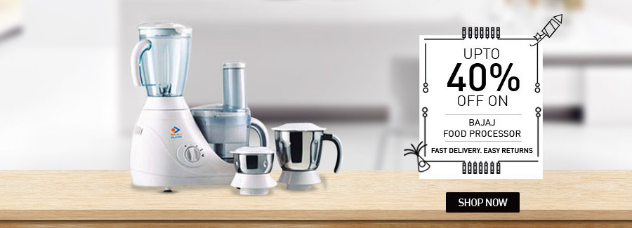 Upto 40% off on Bajaj Food Processors