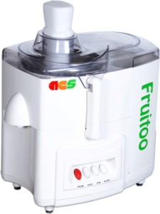 ACS Fruitoo 500 W Juicer Mixer Grinder White, 2 Jars