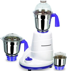 Allwyn Mixer1 550 W Mixer Grinder White,Purple, 3 Jars