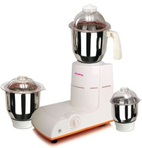 Allwyn Splendor1 750 W Mixer Grinder White,Orange, 3 Jars
