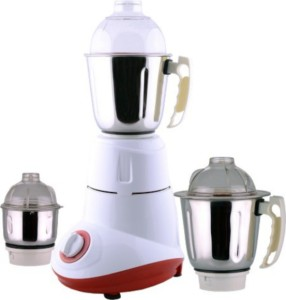 Anjalimix Cruzz 750 W Mixer Grinder Red, 3 Jars