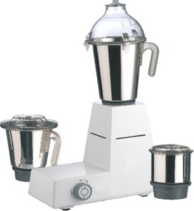 Anjalimix Domestic Plus Gold 1000 W Mixer Grinder Ivory, 3 Jars