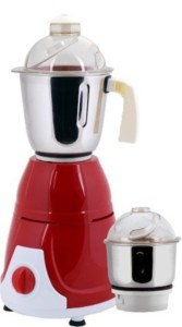 Anjalimix Prime Duo 600 W Mixer Grinder Red, 2 Jars