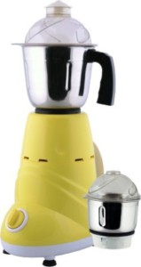 Anjalimix Zobo Duo 600 W Mixer Grinder Yellow, 2 Jars