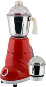 Anjalimix Zobo Duo 600 W Mixer Grinder Red, 2 Jars