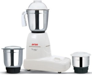 Arise Super Power 550 W Mixer Grinder White, 3 Jars