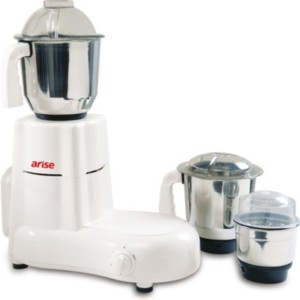 Arise Super Tek 750 W Mixer Grinder White, 3 Jars