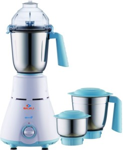 Bajaj Majesty GX 11 600 Mixer Grinder White, 3 Jars