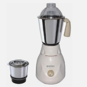 Baltra BMG-108 SLEEK 450 W Mixer Grinder White, 2 Jars