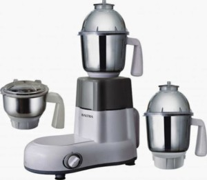 Baltra BMG-117 STRIKE 750 W Mixer Grinder White, 3 Jars