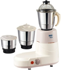 Boss B201 550 W Mixer Grinder Cream, 3 Jars
