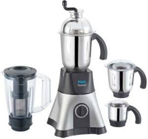 Boss B219 750 W Mixer Grinder Black, 4 Jars