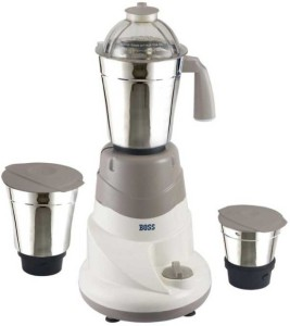 Boss B223 500 W Mixer Grinder Grey, 3 Jars