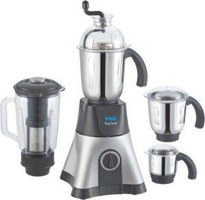Boss Cyclone 750 W Mixer Grinder White and black, 4 Jars