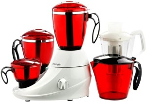 Butterfly Desire 3 jar 230 W Mixer Grinder Red, 3 Jars