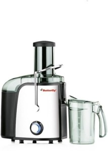Butterfly Desire 750 W Juicer Silver and black, 1 Jar