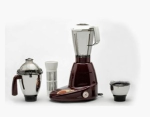 Butterfly Familiar 3 jar 230 W Mixer Grinder Maroon, 3 Jars