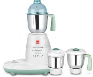 Cello Grind-N-Mix 200 600 W Mixer Grinder White, 3 Jars