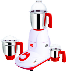 Cello Swift 550 W Mixer Grinder Red, 3 Jars