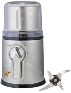 Chef Art CAG702 350 W Mixer Grinder Silver, 1 Jar