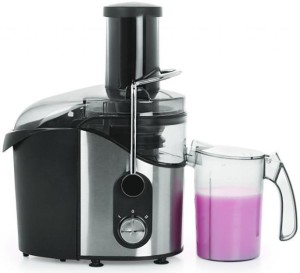 Chef Art CJE582 800 W Juicer Black, 2 Jars