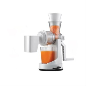 Classic Manual Fruit and Vegetable Juicer White, 1 Jar