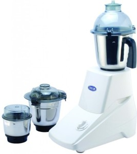 Deco Trendy 750 W Mixer Grinder White, 3 Jars