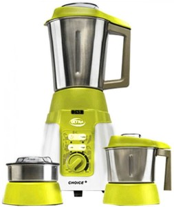 Elgi Choice Plus Rx 1000 W Mixer Grinder Green, White, 3 Jars