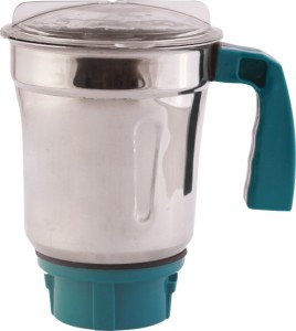 Famous Peacock 750 W Juicer Mixer Grinder White,Blue, 4 Jars