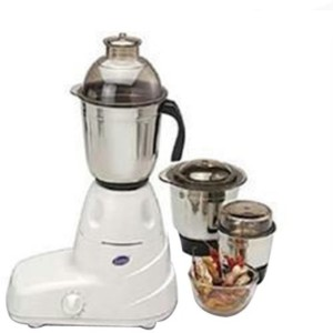Glen GL-4025 500 W Mixer Grinder White, 3 Jars