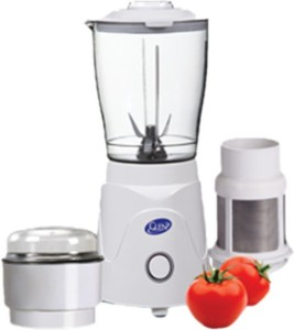 Glen GL 4045BG 500 W Mixer Grinder White, 3 Jars