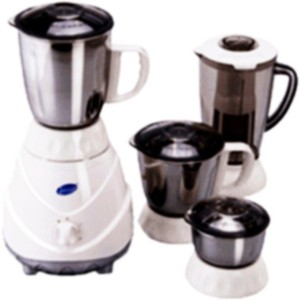 Glen GL4022 MG 750 W Mixer Grinder White, 3 Jars