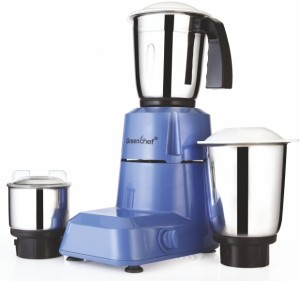 Greenchef Venus Plus 550 W Mixer Grinder Blue, 3 Jars