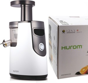 Hurom HH Elite Slow Juicer – 43 RPM 150 W Juicer White, 2 Jars