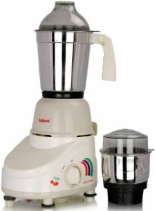 Jaipan Little Master 350 W Mixer Grinder White, 2 Jars