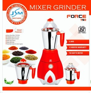 JSM Force 750 W Mixer Grinder