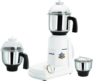 Jusal Smarty 750 W Mixer Grinder White, 3 Jars