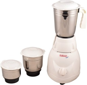 Kailash Magic-550W 500 W Juicer Mixer Grinder White, 3 Jars