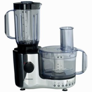 Kenwood KE-FP196 600 W Mixer Grinder White, 2 Jars