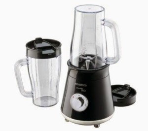 Kenwood KE-SB056 300 W Mixer Grinder Black, 2 Jars