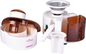 Maple Twister Centrifugal 300 W Juicer White, 1 Jar