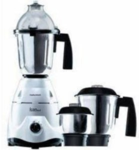 Morphy Richards Icon Delux 600 Mixer Grinder Silver