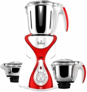 Mr. Butler MG MX01 Red 550 W Mixer Grinder