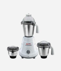 Orient MG-6001G 600 W Mixer Grinder White, 3 Jars