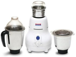Padmini Marval 550 W Mixer Grinder White, 3 Jars