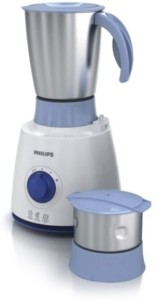 Philips HL7600/04 500 Mixer Grinder White and Blue, 2 Jars
