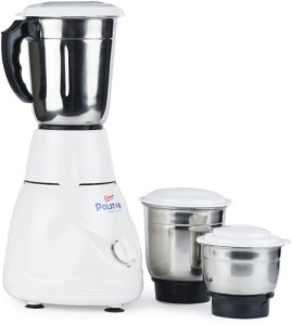 Polstar MG-444 450 W Mixer Grinder White, 3 Jars