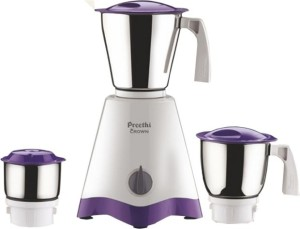 Preethi Crown 500 Mixer Grinder 3 Jars