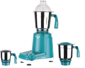 Preethi Trio – MG 158 500 Mixer Grinder Blue with White base