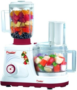 Prestige Champion 600 W Juicer Mixer Grinder White, 2 Jars